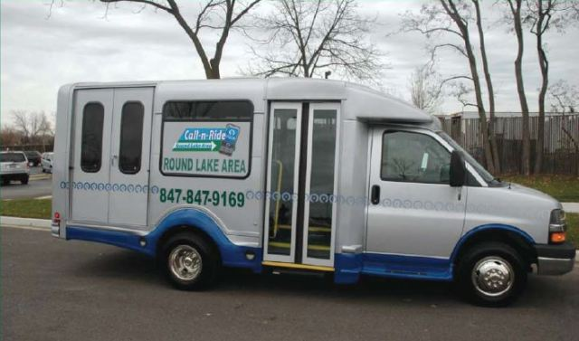 """PACE's Round Lake Area """"Call-n-Ride"""" Bus"""