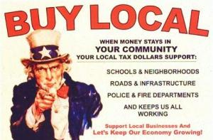 Poster - Buy Local