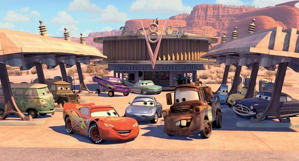 "[From the motion picture ""Cars"". Copyright Disney/Pixar]"