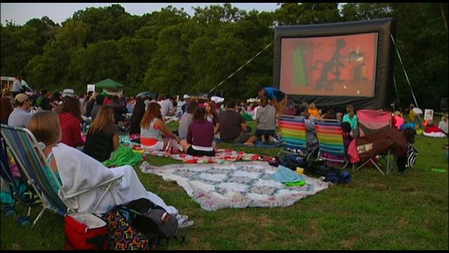 "2013 marks the 19th year for the free ""Movies in the Park"" event at Elmington Park!"