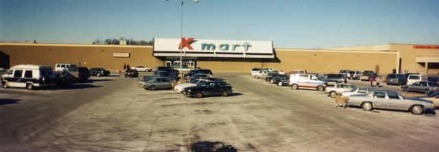 Our Round Lake Beach Kmart in its original location.
