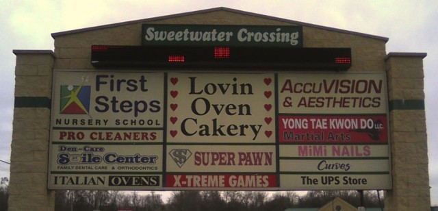 100% occupancy at Sweetwater Crossing! That's a GOOD thing... right?
