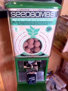Seed Bomb Dispenser