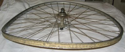 Bent Bike Wheel