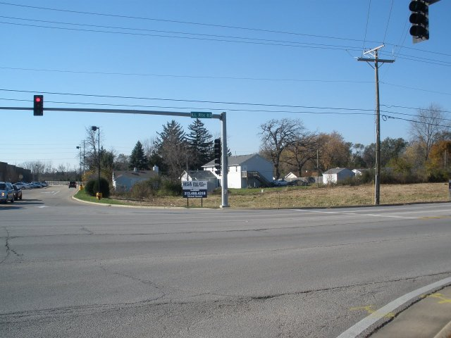 Looking west from Rt. 83 & Engle Drive.